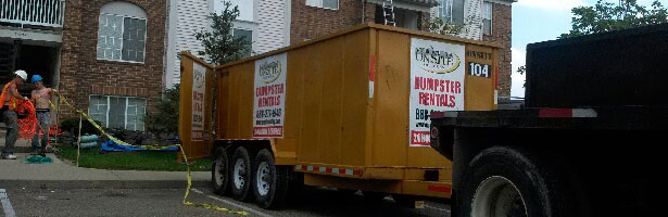 onsite-dumpster